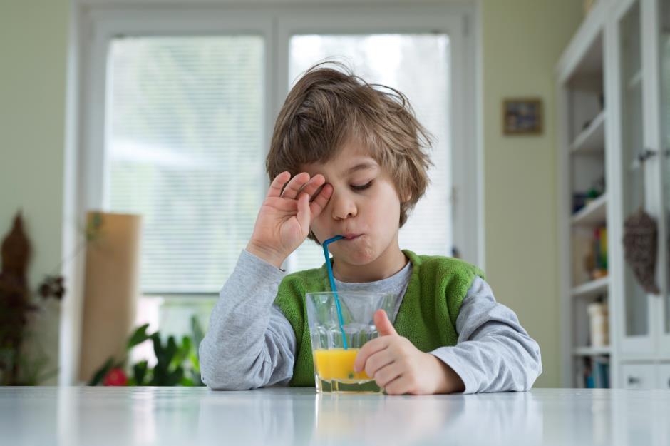 Из-за регулярного недосыпа дети отказываются завтракать